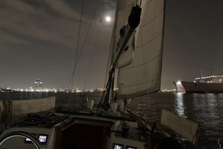 Sailing under the stars: After dark charter