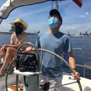 Private sailing lesson